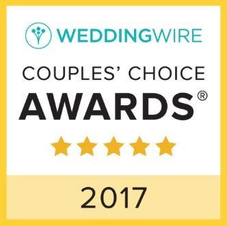 Pittsburgh DJ 2017 Couple's Choice Award badge