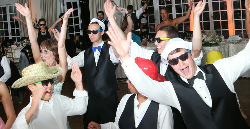 Pittsburgh Wedding DJ - dancing at Longue View