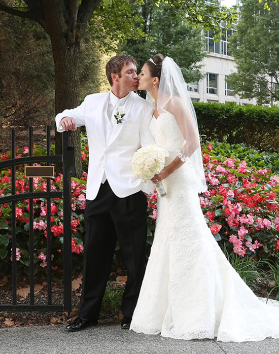 Pittsburgh wedding photography - garden