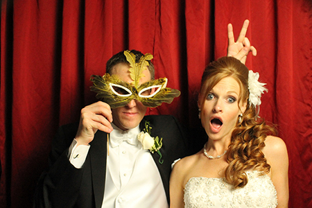 Pittsburgh photo booth - wedding receptions