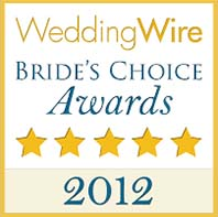 Pittsburgh Wedding DJs - 2012 Bride's Choice Award