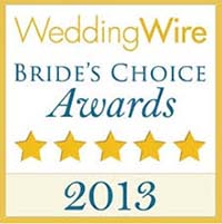 Pittsburgh Wedding DJs - 2013 Bride's Choice Award